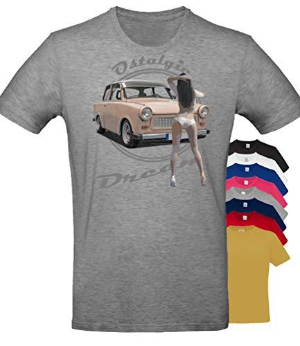 BuyPics4U T-Shirt mit Motiv Trabant Tr24 100% Baumwolle für Herren Damen Kinder viele Farben