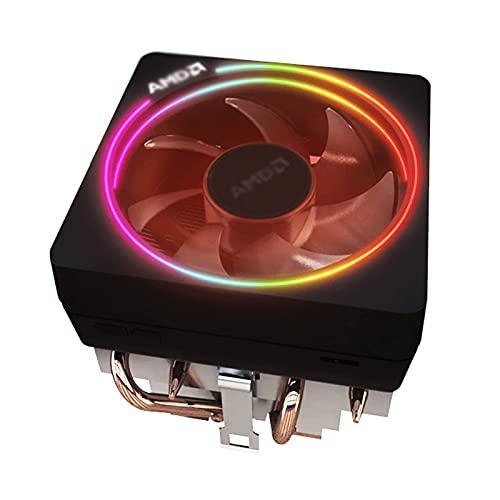 AMD Original RGB Tubo Tubo RADIADOR Wraith Prism 2700x3700x Desktop CPU Fan de Alto Rendimiento