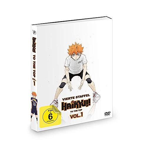 Haikyu!!: To the Top - Staffel 4 - Vol.1 + OVAs - Der Weg des Balls & An Land vs. In der Luft - [DVD]
