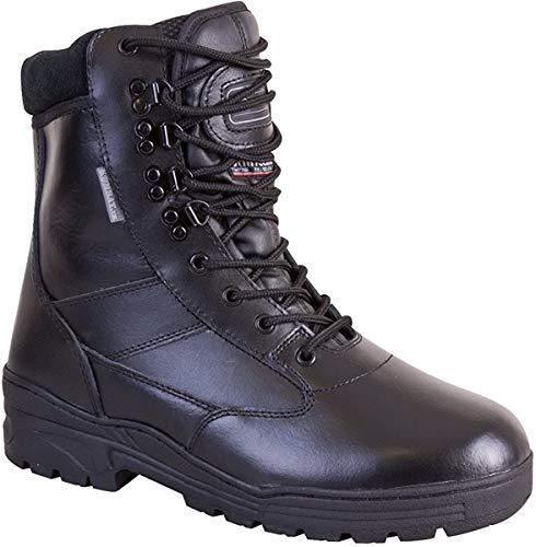 Kombat UK Patrol - Botas de Piel, para Hombre, Hombre, All Leather, Negro, 9