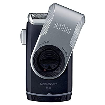 Braun PocketGo M90 MobileShave Portable Shaver, Travel Shaver by Procter & Gamble