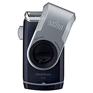 Braun MobileShave Elektrorasierer M-90 für unterwegs, schwarz/silber (B002EZZ5NG) | Amazon price tracker / tracking, Amazon price history charts, Amazon price watches, Amazon price drop alerts