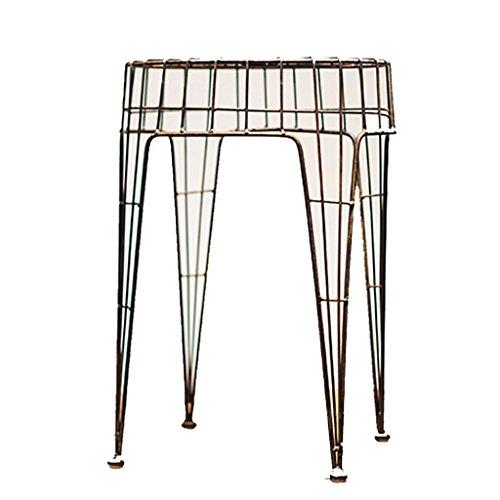 Barkruk, barkruk, industrieel design, smeedijzer, stoel, kruk, bloempot, frame ijzer, decoratie, rond, kruk, stool Een
