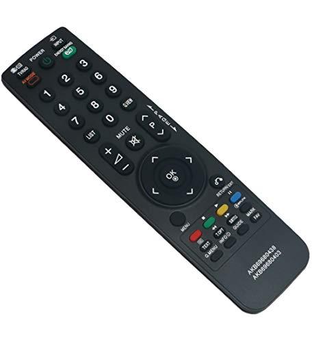 ALLIMITY AKB69680403 Telecomando Sostituisci per LG LED LCD TV 19LH2000 19LH2010 19LH2020 19LU4010 19LU5010 19LU5020 19LV2500 22LD320 22LE3300 22LH2000 22LH2010 22LV2520 32LB570U