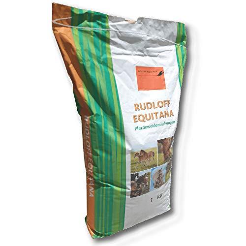 Rudloff-Equitana Kräutermischung Pferdeweiden 1 kg Saatgut Weide Samen Koppel