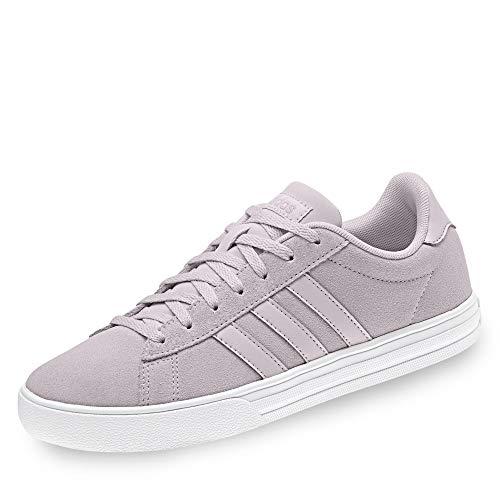 adidas Daily 2.0, Scarpe da Basket Donna, Viola Ice Pur/Ftwwht, 36 EU