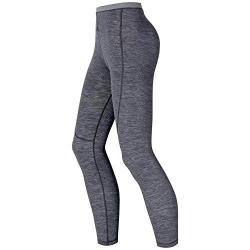 Odlo Revolution TW Warm Collant Femme, Grey Melange, FR (Taille Fabricant : XL)