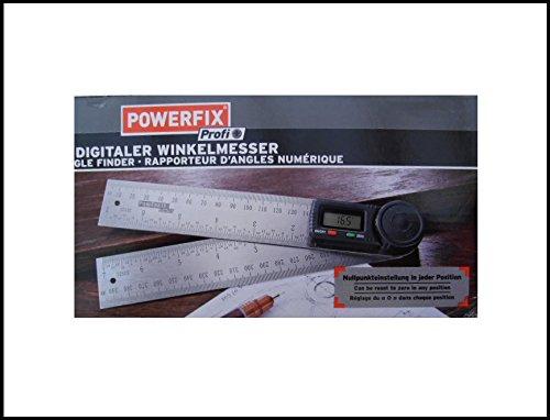 Digitaler Winkelmesser, Winkelschmiege, 200 mm Schenkellänge