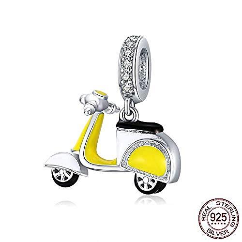 Zilveren Kralen Bedels,Sterling Zilveren Motorfiets Fiets Hanger Charme Voor Originele Zilveren 925 Armband Merk Sieraden Accessoires