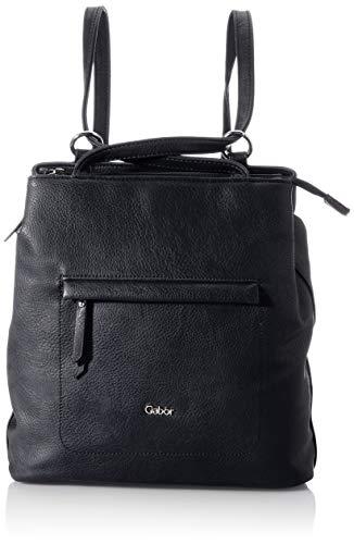 Gabor bags MINA Damen Rucksack M, black, 24,5x9x32