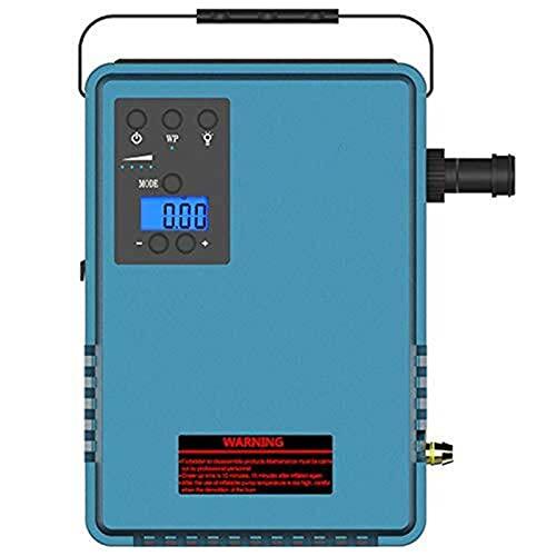 Lavadora de presión eléctrica multifunción de arrancador de arrancador de salto de automóvil con capacidad de inflador de neumáticos 15000mAh Corriente máxima 800A Se puede lavar continuamente para ba