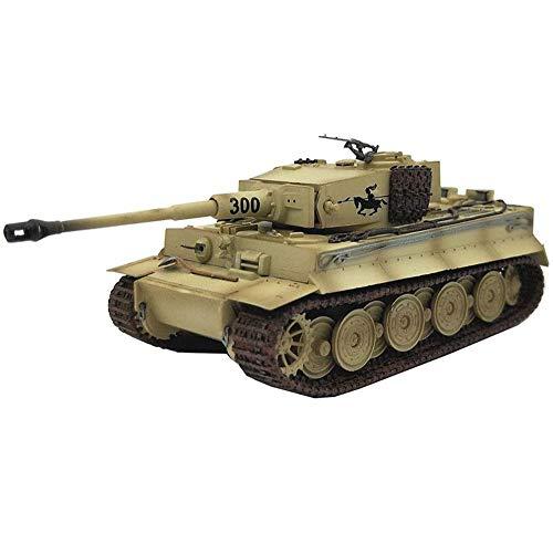 CMO Maqueta Tanque de Guerra, Panzerkampfwagen Vi Ausf E Tiger I Alemán Late Version 1944 el Plastico Militares Escala 1:72 Juguetes, 4.6Inch X 2Inch