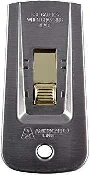 American Line 66-0445 Heavy-Duty Window Scraper with 5 Blades