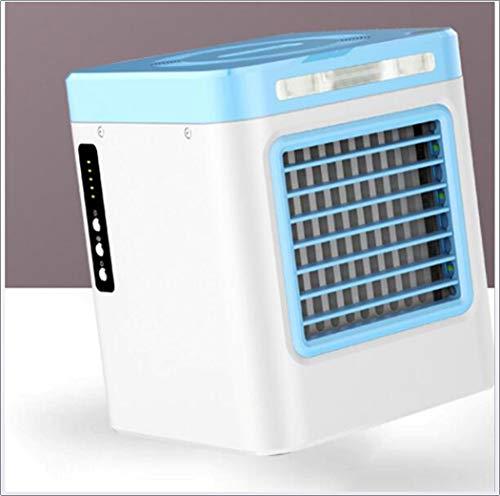 Hao 3-in-1 luchtkoeler, persoonlijke draagbare mini-airconditioningventilator, USB-lader luchtreiniger en -bevochtiger, desktopventilator voor thuiskantoor, 3 snelheden