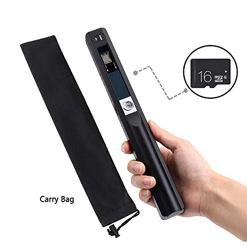 Review Of TQ Portable Handheld Document Scanner with 16GB SD Card Mini Pen Scanner Document & Image ...