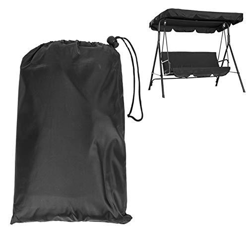 DD&Eren Paño de Sombra oscilante, Asiento Doble Paño de Paraguas Paño Protector Solar Impermeable 210D 142 * 120 * 18cm
