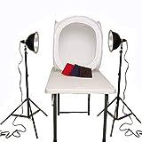 CowboyStudio Photography Table Top Photo Studio Reflector Lighting Tent Kit - 1 Tent, Light Kit