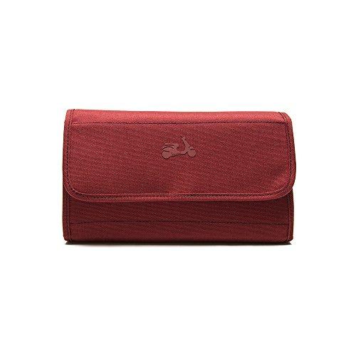 Vespa Neceser Plegable Vespa Urban Collection Beauty Case, 26 cm, Rojo (Rojo) - VPVV62