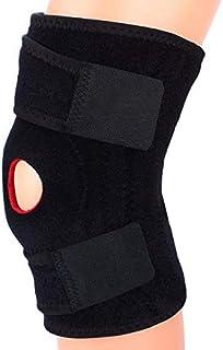 Adjustable Knee Brace Support - Large Black