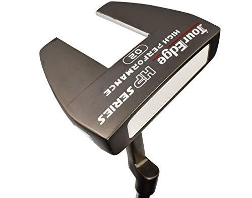 Tour Edge Hp Series Black Putter (Men's, Left Hand, Steel, Uniflex)