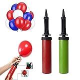 Diko 2 Pcs Bomba para Globos Bidireccional Hinchador, Hinchador de Globos , perfecto para todo tipo de globos de Látex y de Aluminio