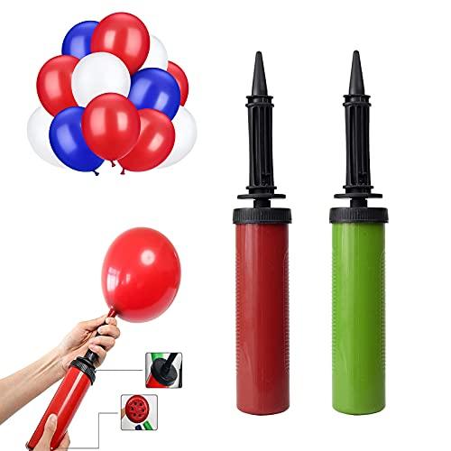 Diko 2 Pezzi Pompa Palloncini,Gonfia palloncini Pompa a gonfiaggio,Pompa ad aria a palloncino,Utilizzata per Party o Eventi