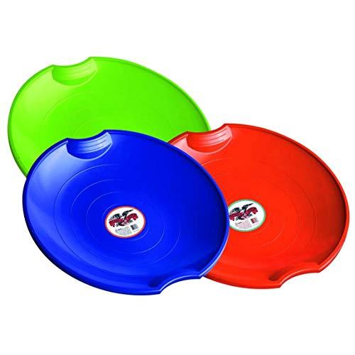 Best sleds for kids - Flexible Flyer 3-pack Snow Saucer Sleds. Round Sand Slider Disc Toy