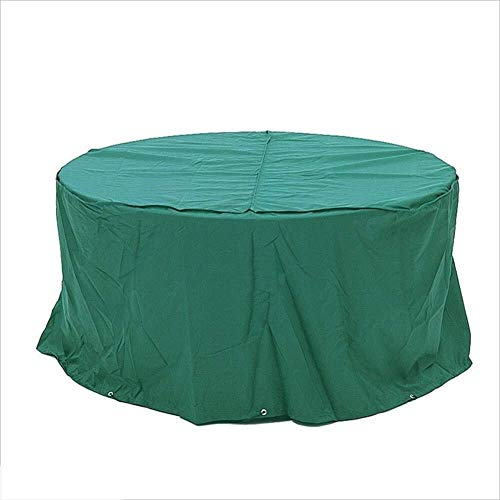 TongN Protective Cover Furniture Cover Dust Cover Oxford Cloth Material Suitable for Home Garden Outdoor Dark Green Large Size 300x300x110cm