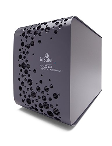 IoSafe Solo G3 USB 3.0 3TB 1YR Basic - with 1 Year Data Recovery
