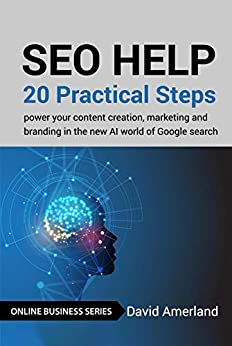 [David Amerland]のSEO Help: 20 Practical Steps to Power your Content Creation, Marketing and Branding in the new AI world of Google Search (English Edition)
