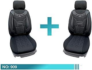 Maß Sitzbezüge Smart Forfour W 453 2 Gen Fahrer /& Beifahrer ab BJ 2014 PL404