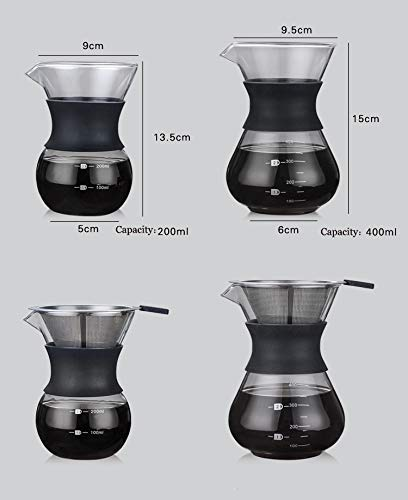 YunNasi-Pour-Over-Coffee-Maker-Glass-Hand-Drip-Coffee-Brewer-Set-with-Permanent-Filter