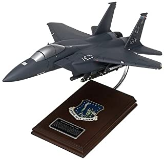 Mastercraft Collection MCF15ESBW F-15E Strike Eagle Wood Desktop Model