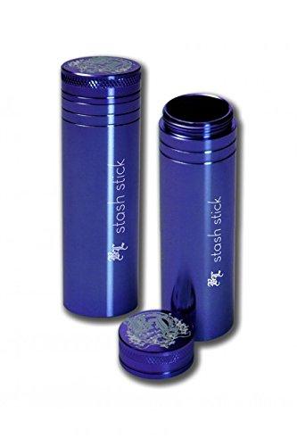 Black Leaf 'Stash Stick' Premium - Vorratsbehälter aus extra dicken Aluminium - Länge: 95mm - Durchmesser Ø: 30mm