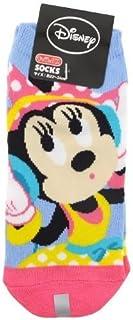 ディズニーソックス ミニーマウス靴下 ヘッドフォンブルー?ピンク 22㎝~24cm AWDS2862