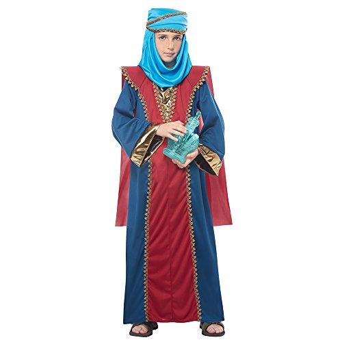 California Costumes Boys Balthasar, Wise Man (Three Kings) Child Costume