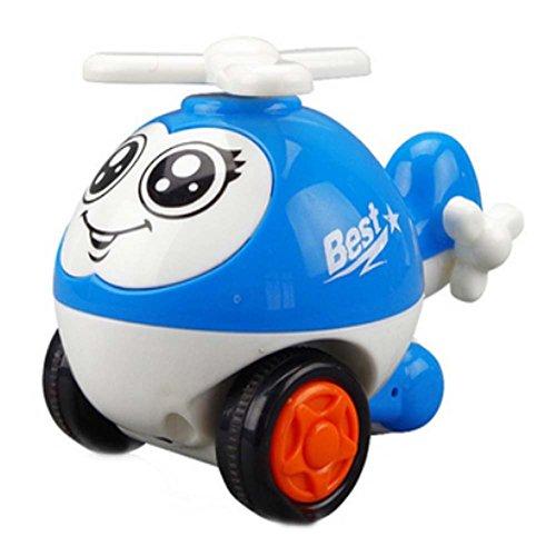 Belle Avion Wind-up Toy pour bébé / enfant / enfants (couleur aléatoire)