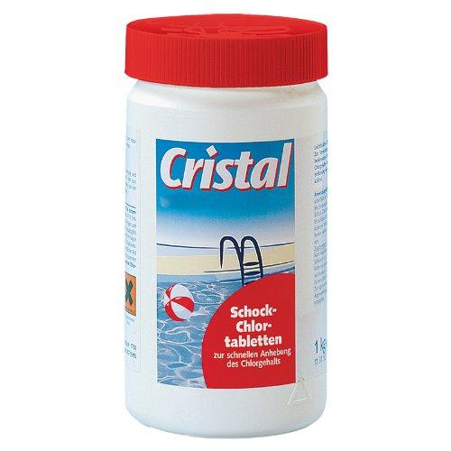 Cristal SCHNELLCHLORTABL Schock-Chlortabletten 1131501 Etten 1kg