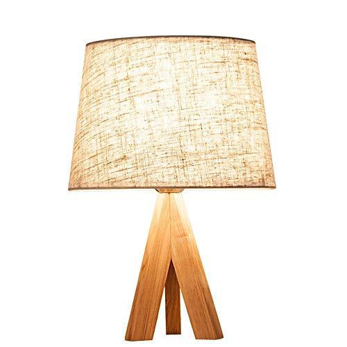 NLHPB lamp voor slaapkamer, bed, Nordic hout, IKEA, minimalistisch, creatief, modern, Europese tafellamp, dimmer tafellamp, decoratief