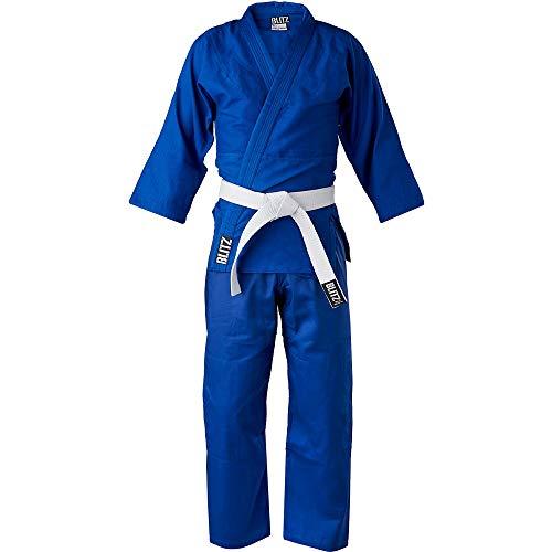 Blitz Judo-Anzug, Unisex, leicht, Blau,...