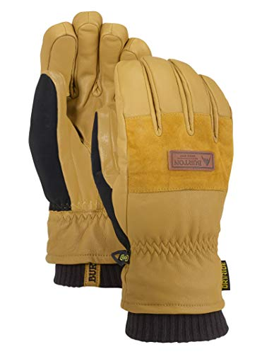 Burton Mens Free Range Glove, Raw Hide New, Large