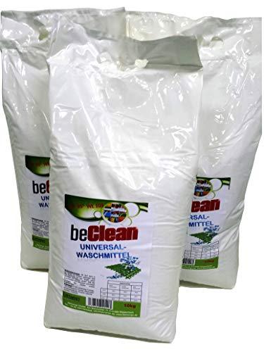 Waschpulver beClean 3x10kg im Sack ca 300 Waschladungen