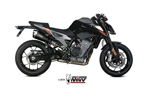 TERMINALE MIVV DELTA RACE ACCIAIO INOX NERO DUKE 890 2020-2021