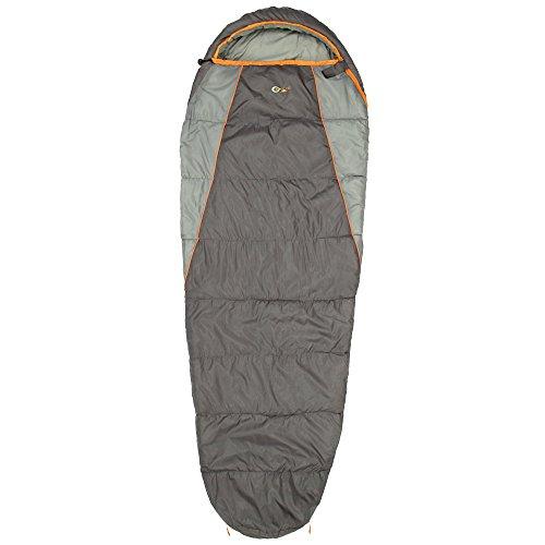 Portal Mumienschlafsack mit Kapuze, Zweiwege-Reißverschluss und pflegeleichtem Schnelltrockenfutter – Inklusive kostenloser Aufbewahrungstasche