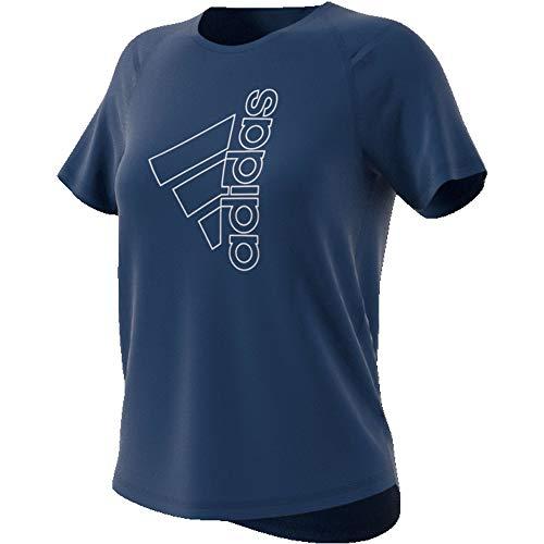 adidas Tech Bos tee Camiseta, Mujer, indtec/Blanco, XS