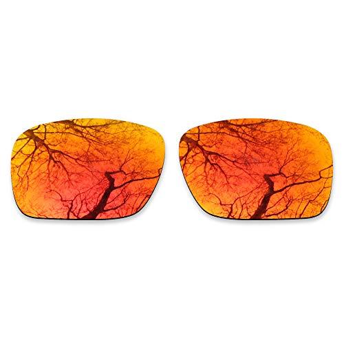 ToughAsNails Reemplazo de lente polarizada para Oakley Holbrook XL OO9417 Sunglass - Más opciones, Naranja Fuego, Talla única