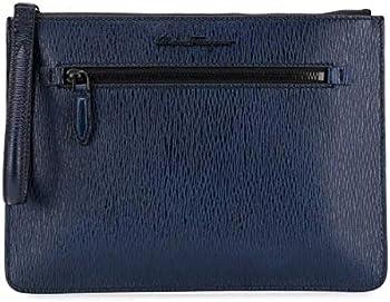 Salvatore Ferragamo Calfskin Leather Document Holder