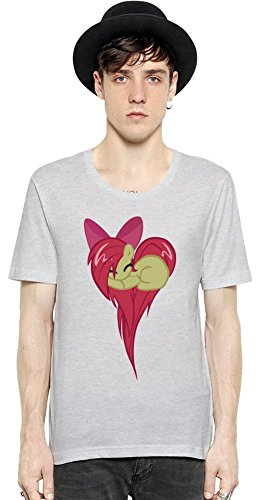 Heart Of Applebloom Short Sleeve Mens T-shirt Small
