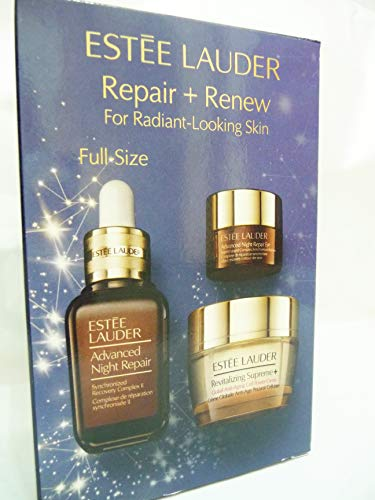 Geschenkset Advanced Night Repair Serum 30 ml + Advanced Night Repair Eye Supercharged Complex 5 ml + Revitalizing Supreme Plus Global Anti-Aging Creme 15 ml 1 Stk.