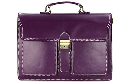 Belli 'Design Bag B ital. Leder Businesstasche Arbeitstasche Messenger Aktentasche...